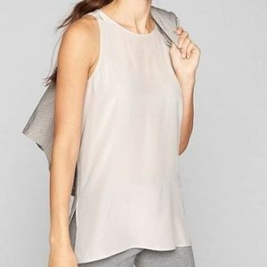 Athleta Washable Silk Side Slit CYA